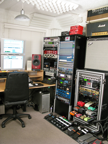 Point Studios recording equipment
